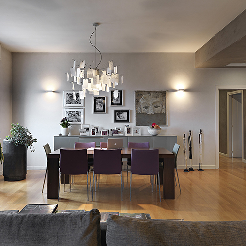 Penthouse with architetti brescia for Design interni brescia